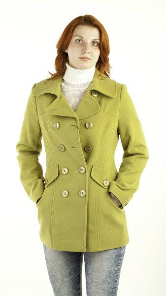 Короткое пальто фото 4
